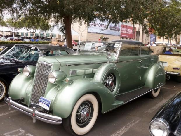 1936 Packard 120 Convertible Sedan