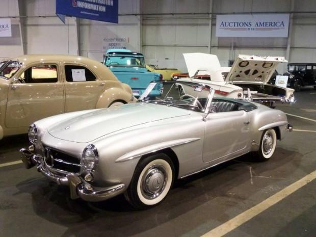 1956 Mercedes-Benz 190SL Roadster