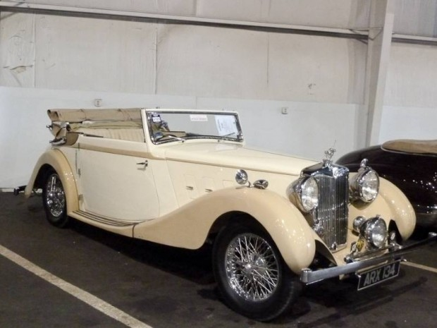 1937 MG SA 3-position Drophead Coupe, Body by Tickford