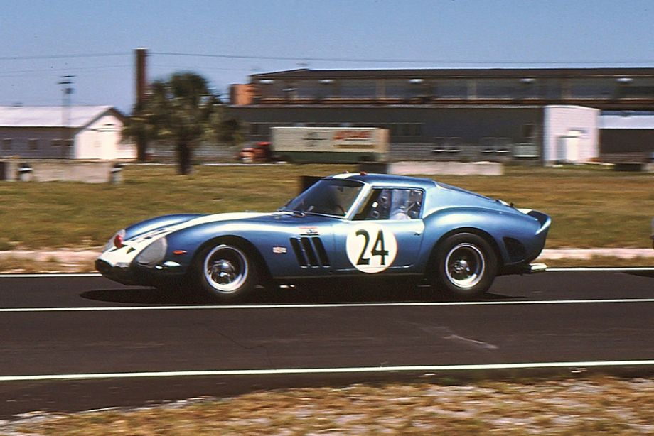 Mecom Racing Team Ferrari 250 GTO of Roger Penske and Augie Pabst