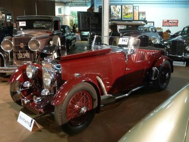 1934 Aston Martin 1 1/2 Liter Sports 2/4 Seater