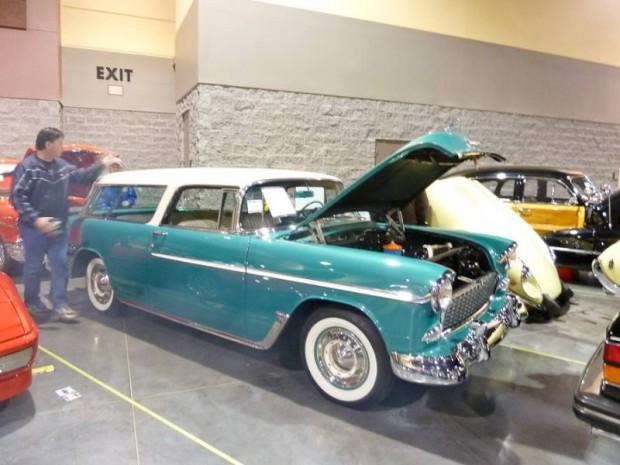 1955 Chevrolet Bel Air Nomad 2-Dr. Station Wagon