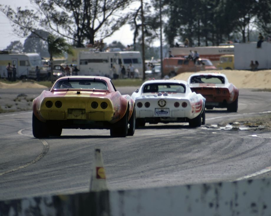 There were plenty of Corvettes to be seen at Sebring in 1973.