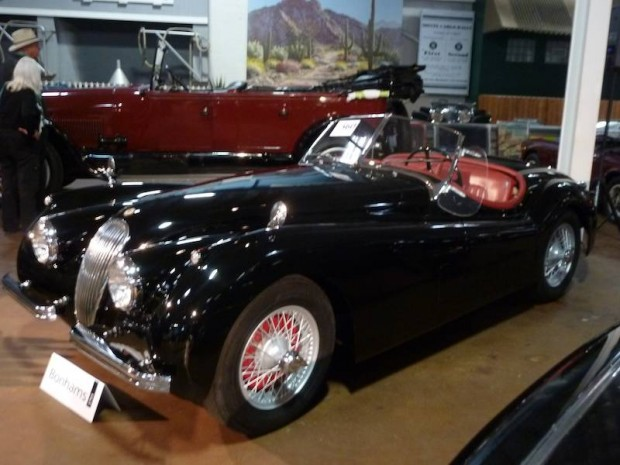 1954 Jaguar XK 120SE Roadster