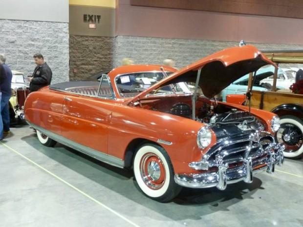 1951 Hudson Pacemaker Convertible Brougham