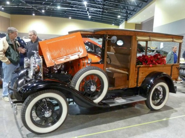 1930 Ford Model A Huckster Wagon