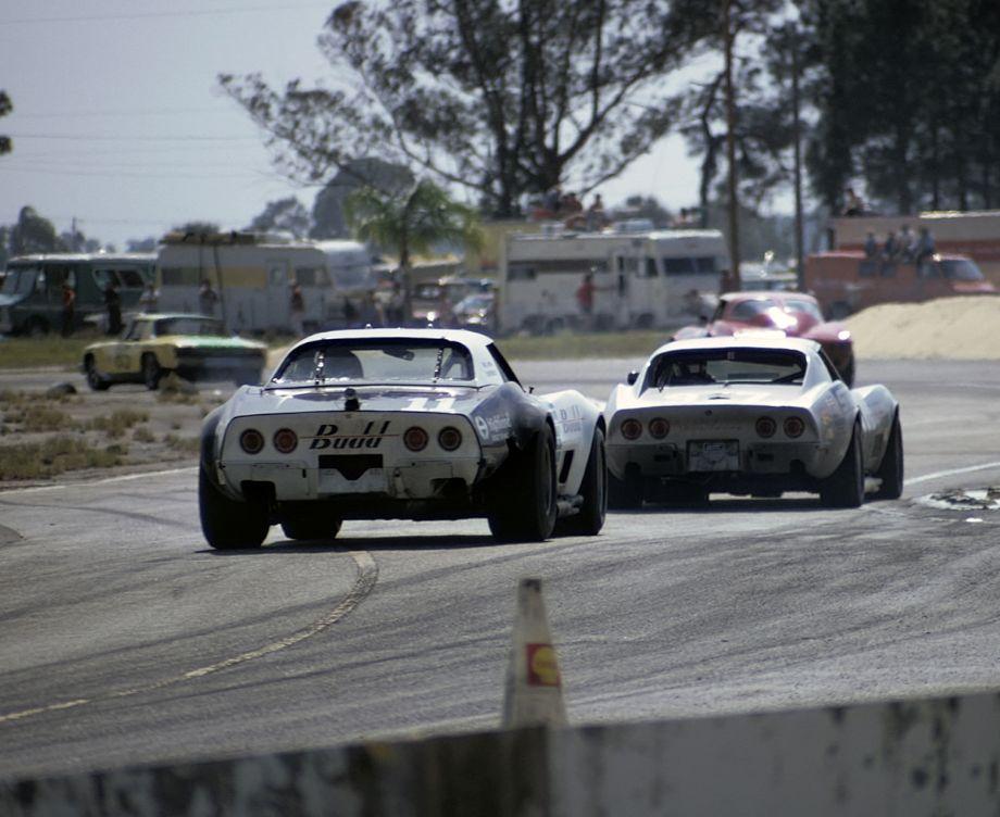 Corvettes at Sebring, 1973