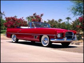 1957 Chrysler Dual Ghia Convertible (Lot S7) at $300,000