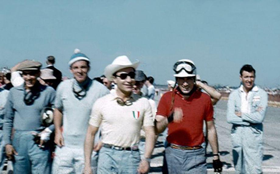 Musso, Schell, Castellotti, de Portago and Shelby