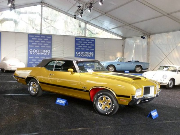 1971 Oldsmobile 4-4-2 W-30 Convertible