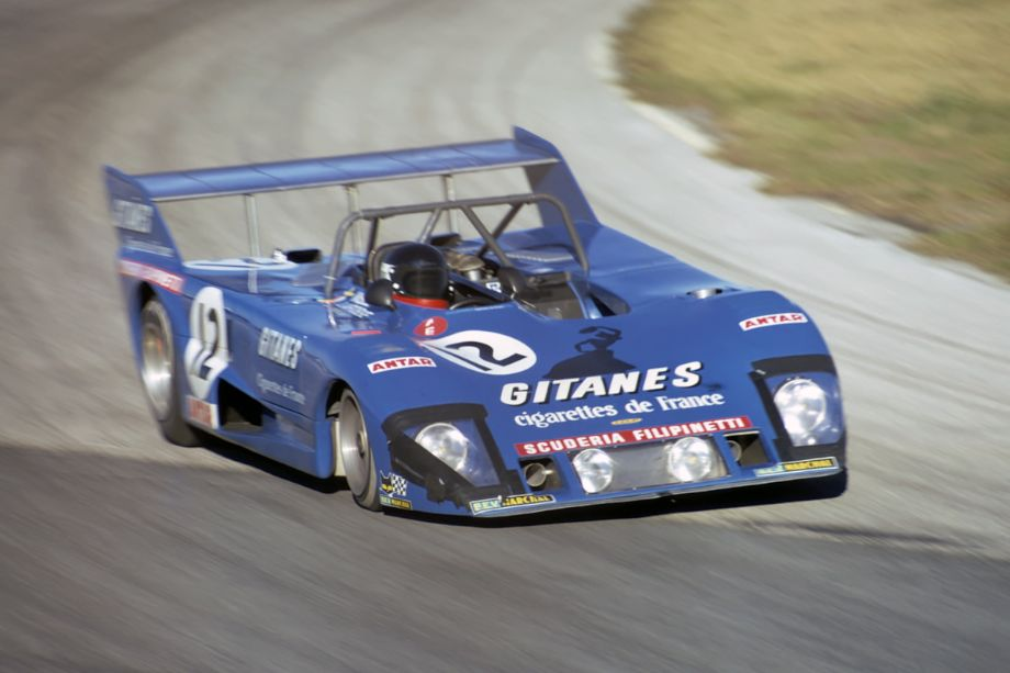 The Lola T282 of Reine Wisell, Jean-Louis Lafosse (seen in photo) and Huges de Fierlant.  The car retired after 281 laps with ignition problems.  Fred Lewis photo