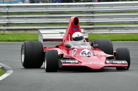 5th Place in race 1 for Mark Dwyer in his Lola T400
