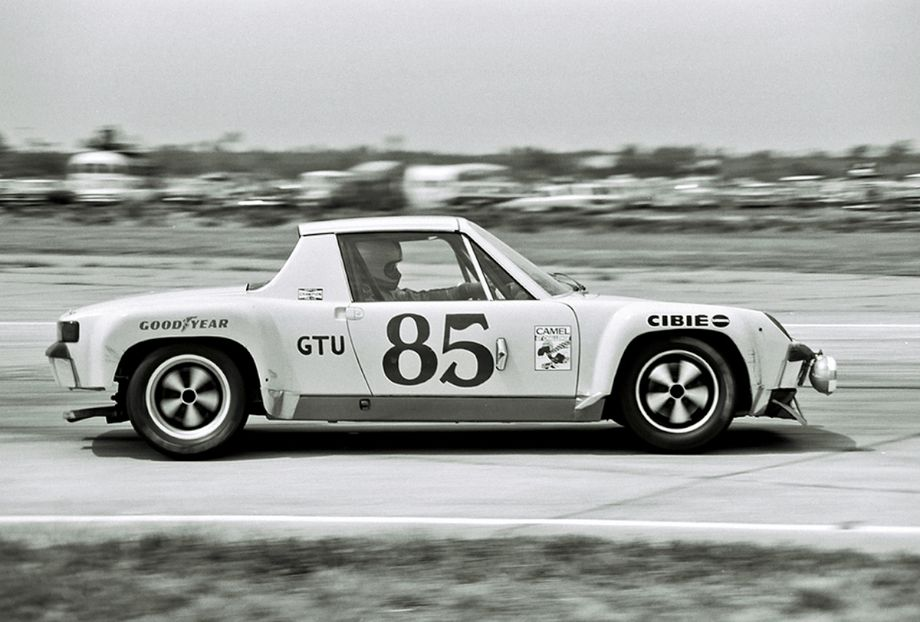 Don Paris, Ron Jones and John Hulen finished 30th in this Porsche 914-6