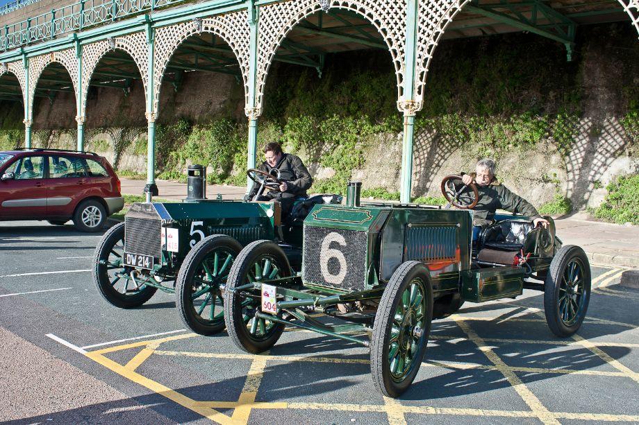 1902 Napier 50HP and 1904 Napier 100HP