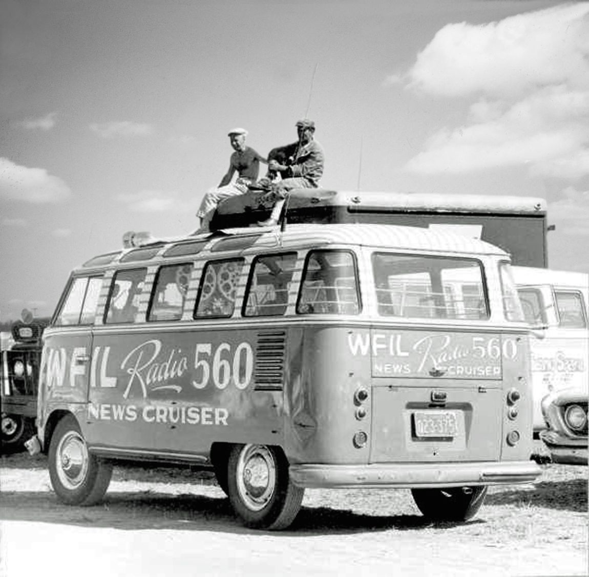 Radio coverage of the Sebring race was extensive in the '50s and early '60s.  Radio and TV legend Walter Cronkite broadcast the race several times.  Florida Archives photo.