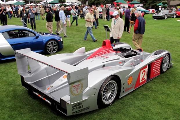 2004 Audi R8 LMP1 racecar, winner 2005 24 Hours of Le Mans. Photo William Edgar