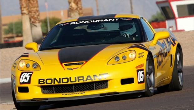 Grand Sport Corvette on the Bondurant Firebird Track