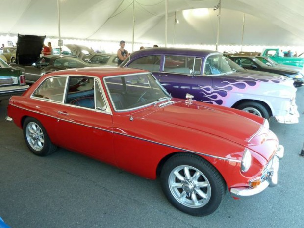 1968 MG C GT Coupe