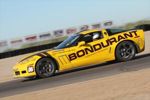 Grand Sport Corvette on the Firebird Track