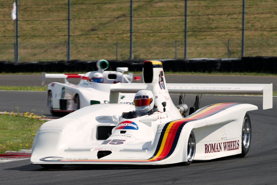 1978 Lola Frissbee GR2 driven by Miles Jackson out of twelve.