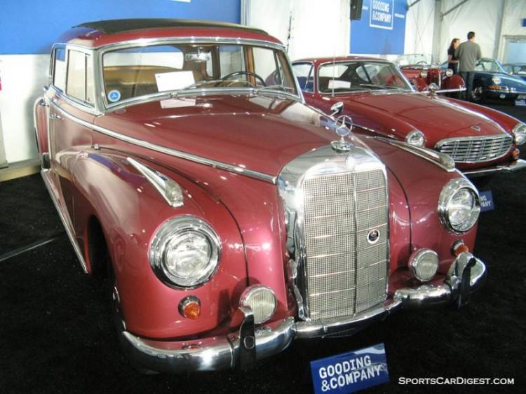 1956 Mercedes-Benz 300C Sedan, Body by Sindelfingen