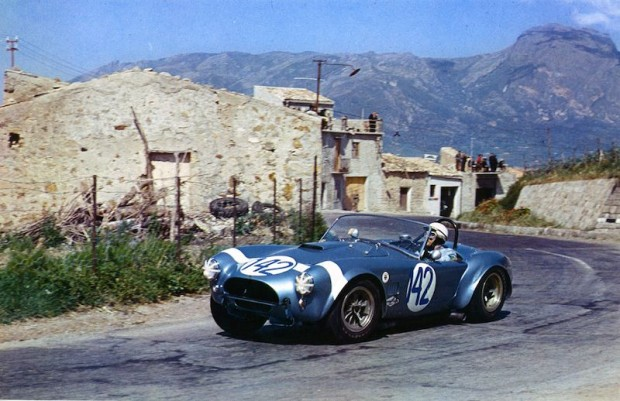 Phil Hill Shelby Cobra Targa Florio picture