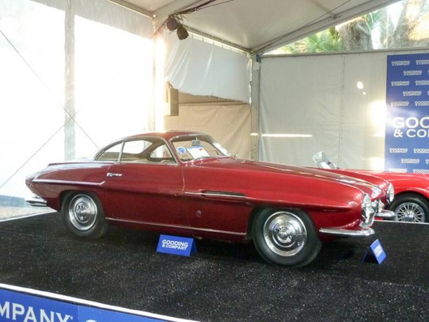 1953 Fiat 8V Supersonic Coupe, Body by Ghia