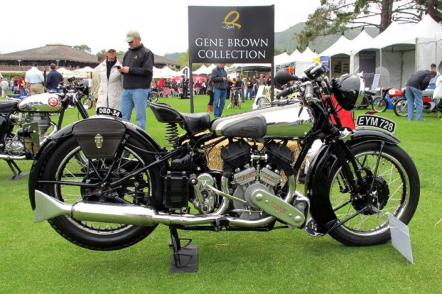 It's nearly impossible to imagine that a production motorcycle, from any era, could look better than Gene Brown's Best of Show winning 1938 Brough Superior SS-80.