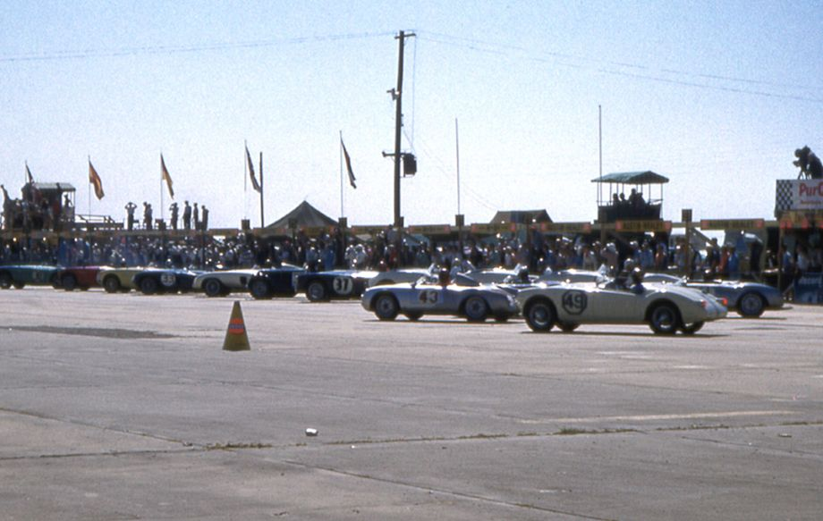MG A at 1956 Sebring 12 Hours