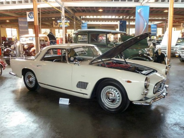 1961 Maserati 3500 GT Coupe, Body by Touring