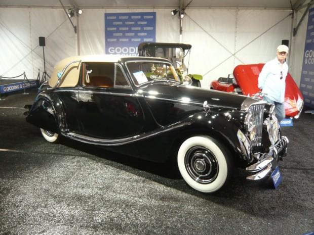 1950 Jaguar Mark V 3.5 Liter Drop Head Coupe for sale
