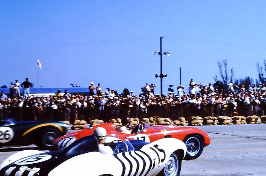 Start of the 1956 Sebring 12 Hours