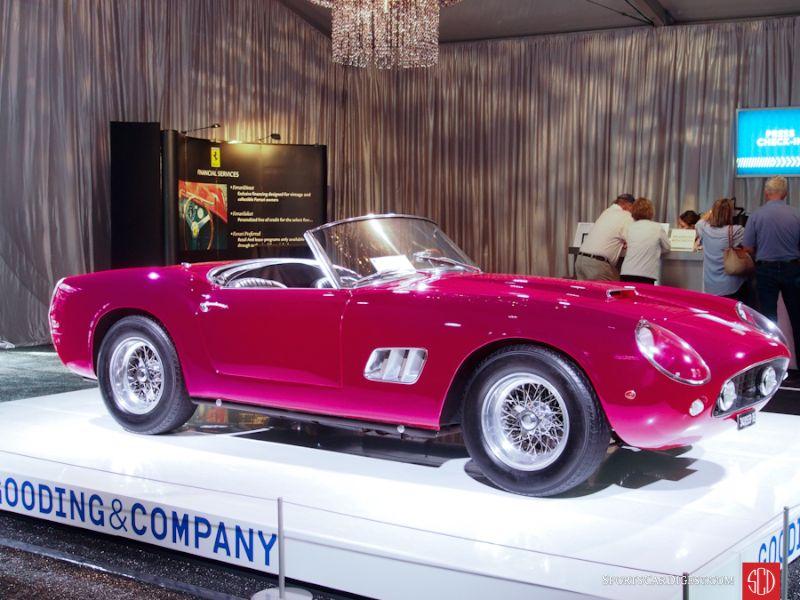1961 Ferrari 250 GT SWB California Spyder (closed headlight)