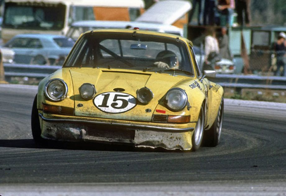 The Toad Hall Porsche 911S that finished eighth at the hands of Michael Keyser, Tony Adamowicz and Bob Beasley.   Autosports Marketing Associates, Ltd. photo.