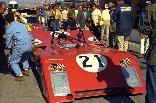 NART Ferrari 312P/71 of Luigi Chinetti, Jr and Alain De Cadenet.