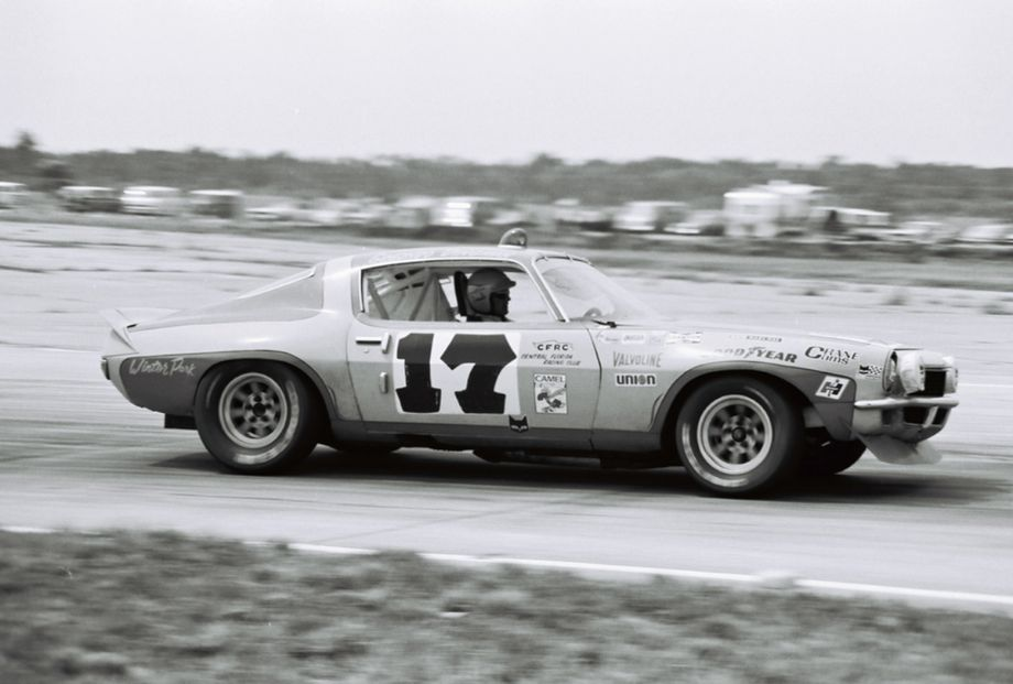 Vince Gimondo and Billy Dingman finished 5th and 1st in class with this Chevrolet Camaro.