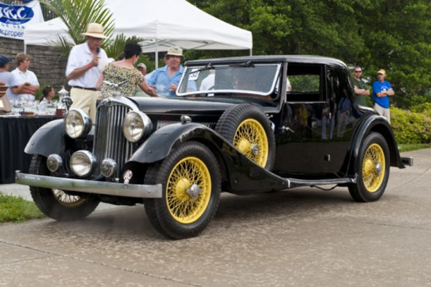 <strong>Jim Ibold Preservation Award </strong> 1936 A.C. 16/70 Coupe, Jim & Lucy McMahon, Cincinnati, OH