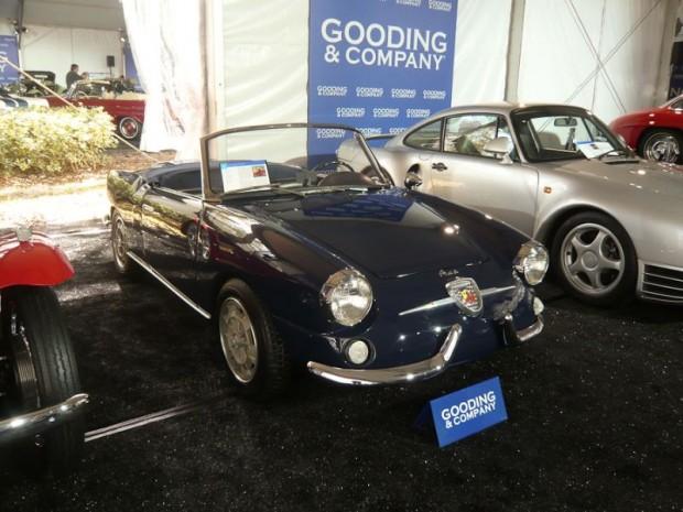 1959 Fiat Abarth 750 Allemano Spider for sale