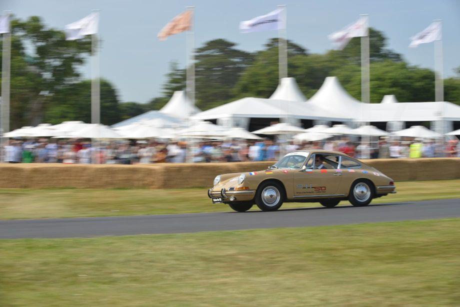 Porsche 911 50th Anniversary Tour