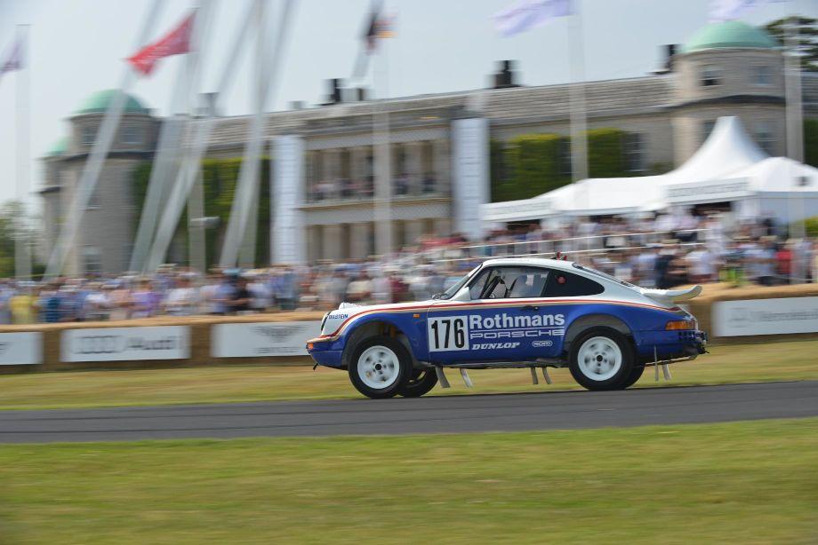 Porsche 911 SC Paris Dakar Rallye