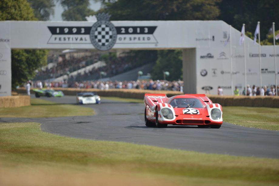 Team Salzburg Porsche 917K won the 1970 24 Hours of Le Mans