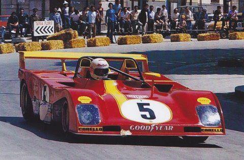 1973 Targa Florio, Ferrari 312 PB, Jackie Ickx, Brian Redman