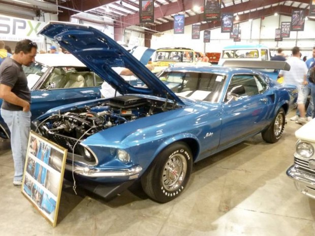 1969 Ford Mustang GT Fastback
