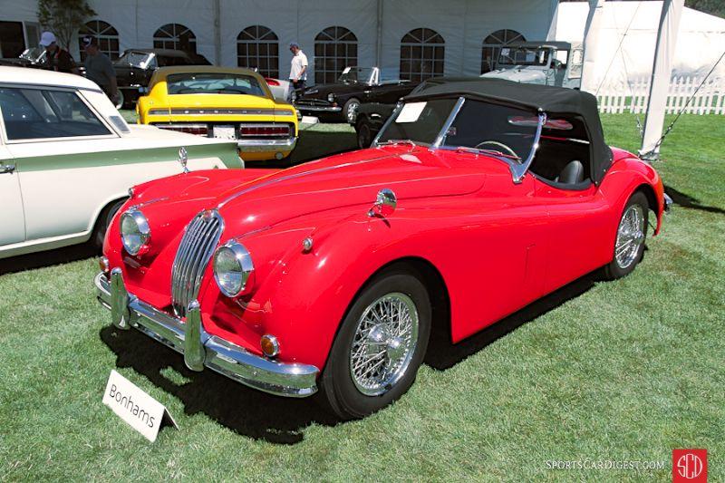 1955 Jaguar XK 140MC Roadster