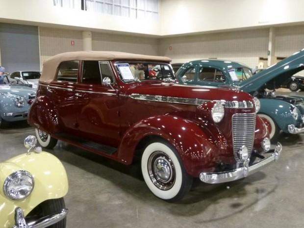 1937 Chrysler Royal Convertible Sedan