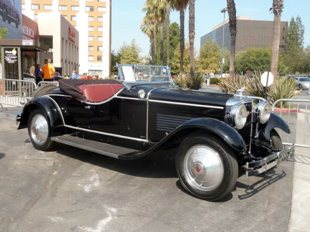 1929 Stutz Model M Vertical Eight 2-Passenger Speedster with Rumble Seat, Body by LeBaron