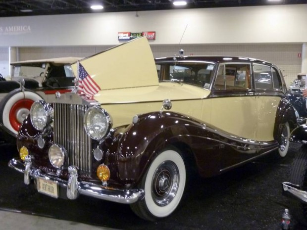 1956 Rolls-Royce Silver Wraith Touring Limousine