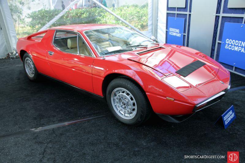 1976 Maserati Merak SS Coupe, Body by Padane