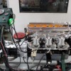 The mighty 3.8L on the engine dyno