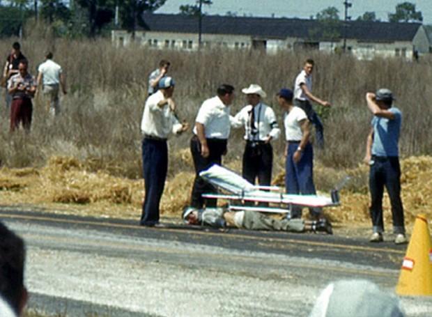 Carlos Menditeguy at 1956 Sebring 12 Hours